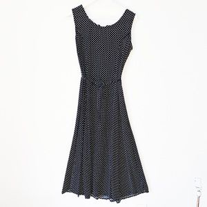 RETRO VINTAGE 💋 Polka Dot Dress - Size 6